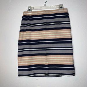 3/$20🔥Ann Taylor striped skirt